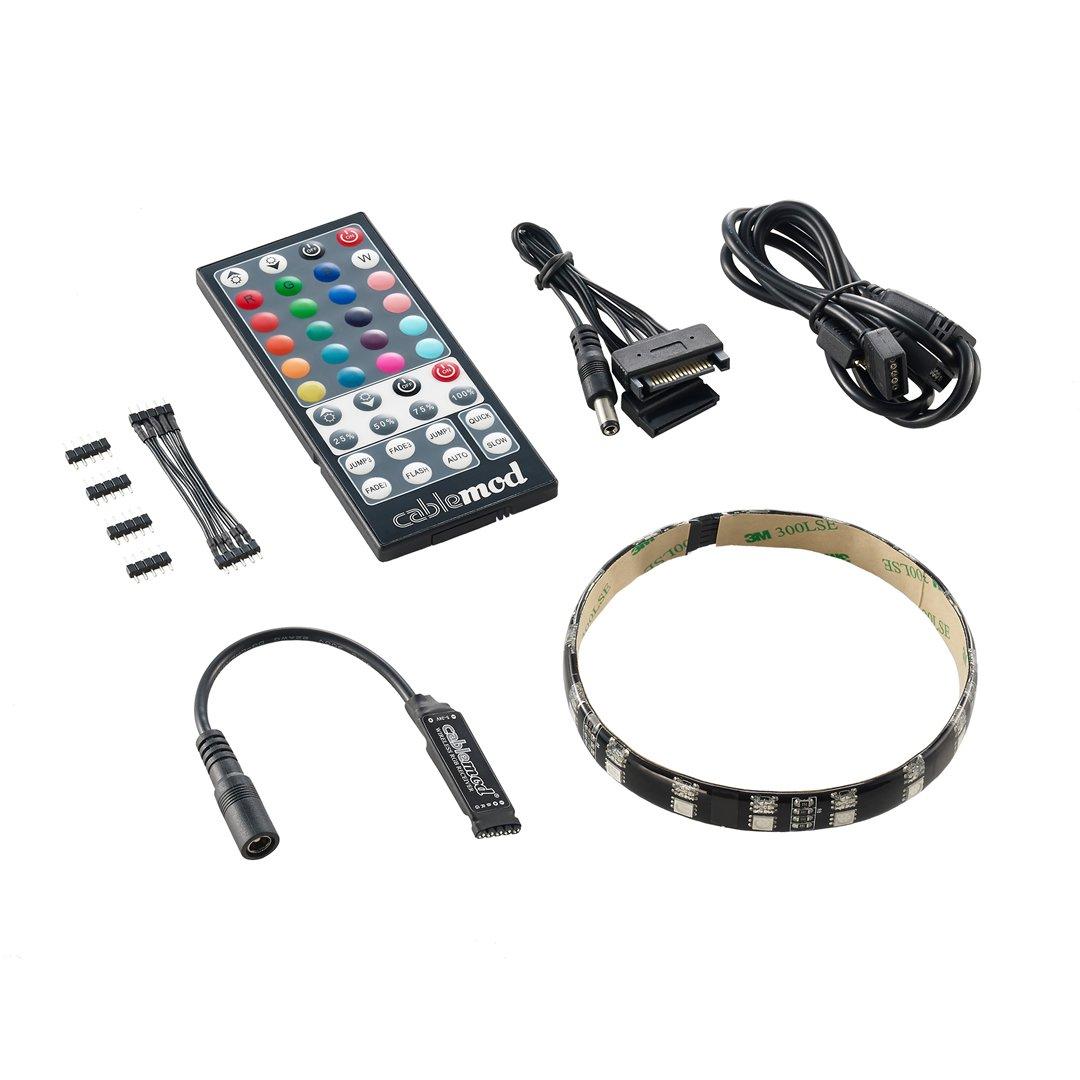 Cablemod Widebeam Hybrid Led Kit Rgb Uv Cablemod Global Store